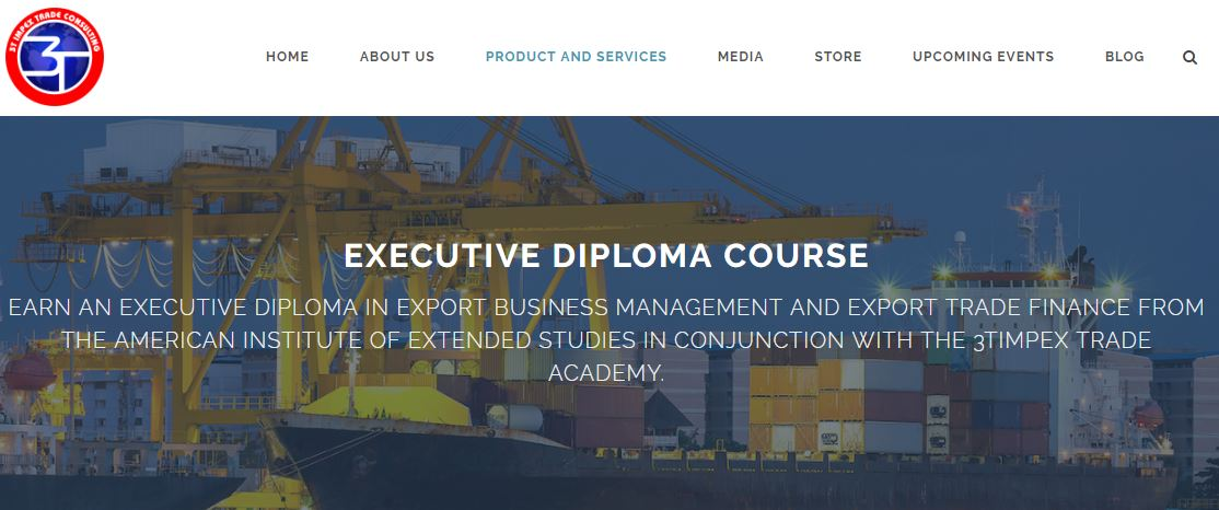 3t Impex Offers International Trade Certification With Us Based